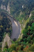 The Dunajec river gorge